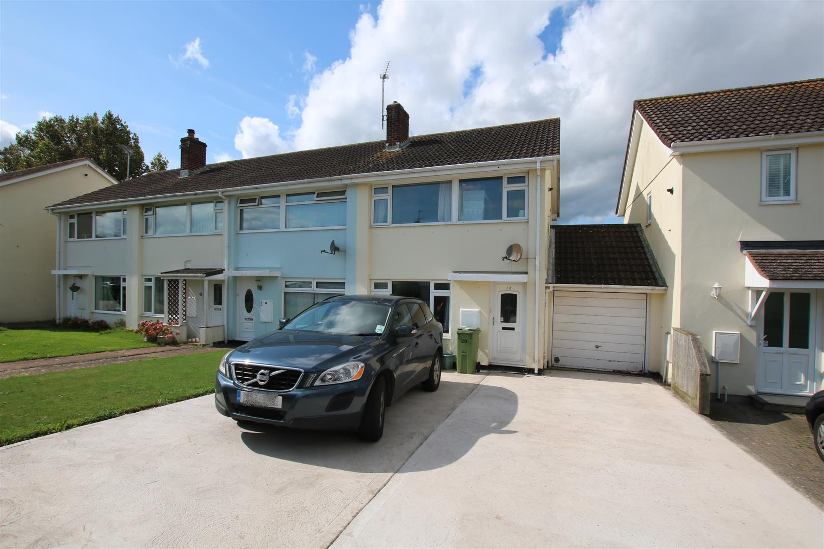 3 Bedrooms End Of Terrace House for sale in Parkers Road, Starcross, Exeter